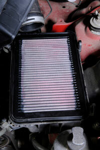 You should replace your car's air filter every 12,000 miles (19,312 kilometers).