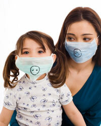 A snout is a stylish addition to any surgical mask.