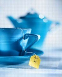 Tea can be easily brewed and enjoyed at home.