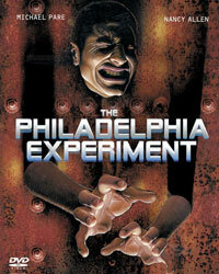 """This 2007 DVD cover for 1984's """"The Philadelphia Experiment"""" dispenses with the cheese and hypes the teleportation horror."""