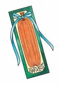 Make a festive harvest bookmark.