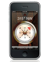 The iPhone 3GS looks identical to the iPhone 3G, but the 3GS features much faster performance.