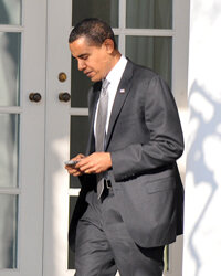 President Obama has fully embraced the Internet age.