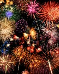 With professional handling, fireworks are plenty safe. But in the hands of amateurs, well that's another story.
