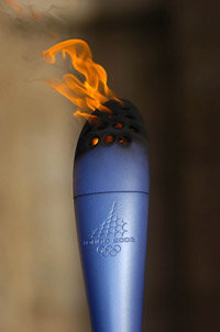 The 2006 Torino Olympic Torch