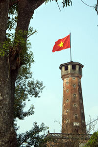The legend of the Towers of Hanoi sometimes takes place in Vietnam.