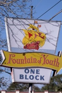 Modern folks looking for Ponce de Leon's Fountain of Youth may just head to the Fountain of Youth Archaeological Park in St. Augustine. Can't make the trip? Just order some magical water online.