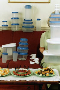 Tupperware parties start every three seconds around the world.