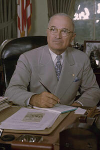 President Harry S. Truman signed Executive Order 9981 on July 26, 1948. It banned racial segregation in the U.S. military, though the process of desegregation took several years.