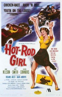 American-International Pictures released Hot-Rod Girl in 1956.