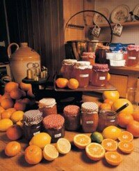 Jams, jellies, and marmalades look similar but are very distinct.