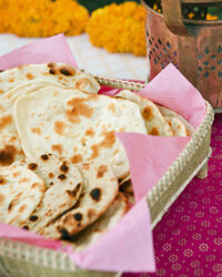 Not only will roti mesh easily with any menu, it will also look fabulous on the table.
