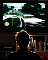 Video game testers make sure games work properly like Grand Theft Auto IV.