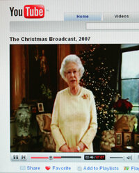 ­Video-sharing sites are so popular that even Britain's Queen Elizabeth II used the forum to post her Christmas message