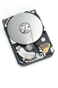 Where it all started: the physical hard drive.