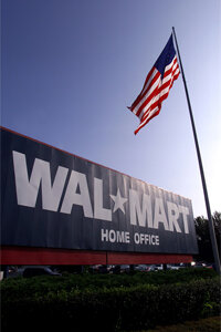 Wal-Mart's headquarters in Bentonville, AR