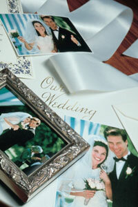 Creating a photo album may help you close the book on your big day.