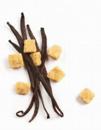 Vanilla sugar is sugar that has been flavored with a vanilla bean. See more spice pictures.
