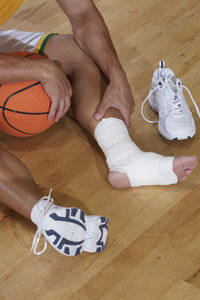The subfloor of a basketball court helps preserve your back, knees and ankles.