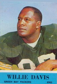 """Willie Davis about Super Bowl I:                              """"We weren't playing just                                            for the Packers; we were playing                                            for the entire NFL."""" See more                                            pictures of famous football players."""