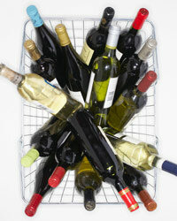 For reference, 60 liters of wine equals this basket times 5.