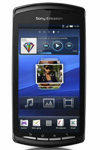 The Xperia Play features a 4-inch touch-screen display and runs the Android OS.