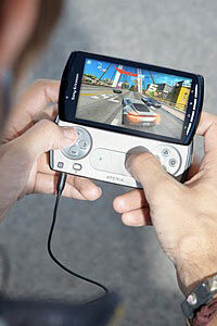 The Xperia Play is hoping to stand up to the new PlayStation Vita by offering gamers all the features of a smartphone in the same package as a handheld gaming device.