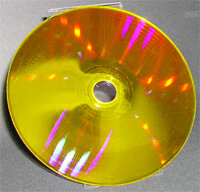 Holographic Versatile Discs can store lots of information.