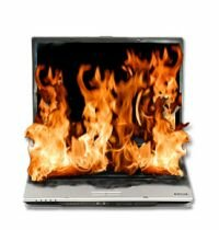 Several news reports in the past six months describe laptops with lithium-ion batteries that caught on fire.