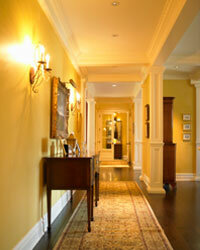 You might want to choose a durable paint for hallways and other high-traffic areas.