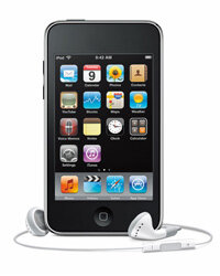 Apple's iPod touch is one of the most famous mp3 players on the market.