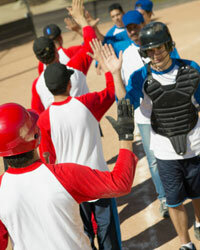 It's likely that high-fives originated in baseball, and the tradition is seen in virtually every sport today.