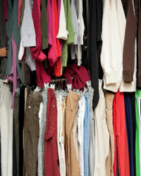 Clothing can cause skin irritation from the abrasiveness of the fabric against your skin, or from allergic reactions to the fabric.