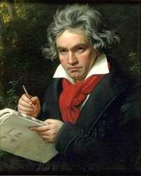 Beethoven became deaf at age 28, unable to hear his own music.