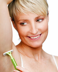 Your underarms can be a very difficult area to shave.