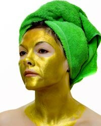 For the ultimate facial extravagance, try 24-karat gold.