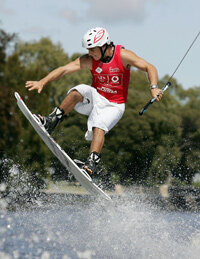 This wakeboarder shows us just how to master the wakeboard.