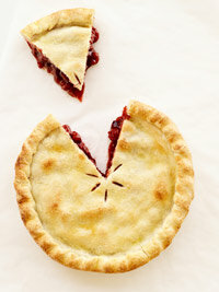 We use the idea of a pie to illustrate what people fight over in a negotiation.