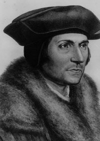 Thomas More was a statesman, writer and Catholic martyr who refused to swear to the Acts of Supremacy and Succession.