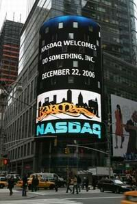 NASDAQ salutes Do Something's efforts and the Karma Tycoon game