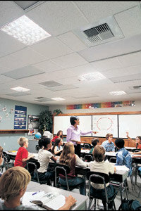 Companies like SolaTube offer daylighting devices for residential homes, commercial businesses and even schools.