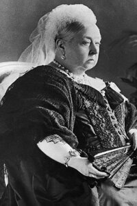 Queen Victoria (1819-1901) made a public declaration that makeup was vulgar and improper, due to its connection with prostitutes.