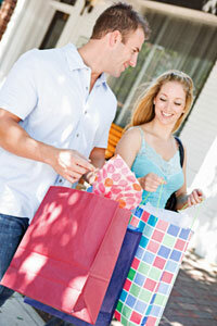 You may have to cut back on some shopping to stick to your budget.