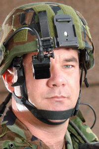 The Land Warrior system combines GPS, e-mail, video and other technologies to assist soldiers in combat.