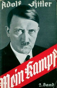 Adolf Hitler's Mein Kampf. See                              more pictures of World War II.