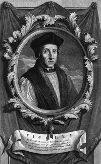 John Fisher denied Henry VIII's supremacy but was later canonized for his staunchness.