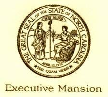 State Seal on an Invitation to the Executive Mansion