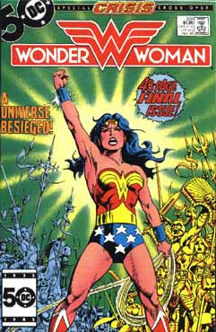 Wonder Woman at the height of the Crisis
