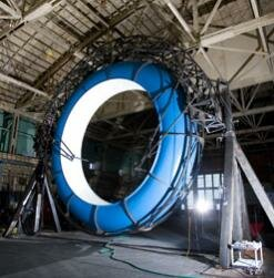 """A revolving waterslide created by Discovery Channel's """"Prototype This!"""" team could save a lot of time walking up stairs at the water park."""