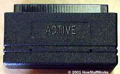 An active terminator